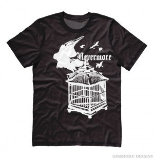 Nevermore: Raven's Cage T-shirt
