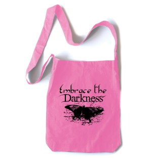 Embrace the Darkness Crossbody Tote Bag