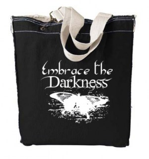 Embrace the Darkness Designer Tote Bag