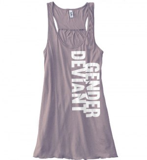 Gender Deviant Flowy Tank Top