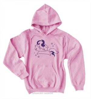 Sparkly Unicorn Pullover Hoodie
