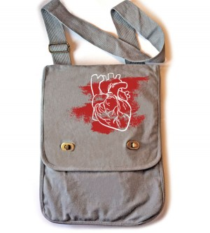 Laid My Heart Bare Field Bag