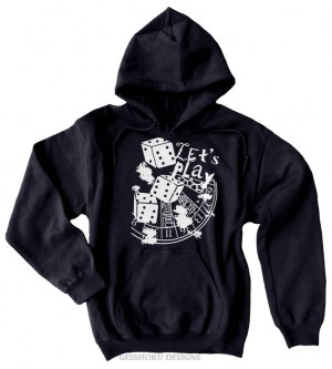 Let's Play 666 Pullover Hoodie