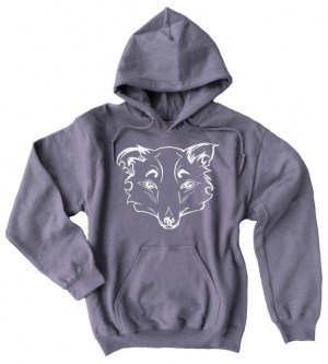 Mysterious Wise Fox Pullover Hoodie