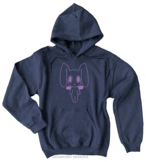 Robot Bunny Pullover Hoodie