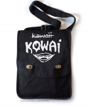 KOWAI not Kawaii Field Bag