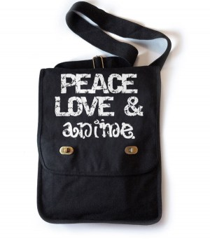 Peace Love & Anime Field Bag