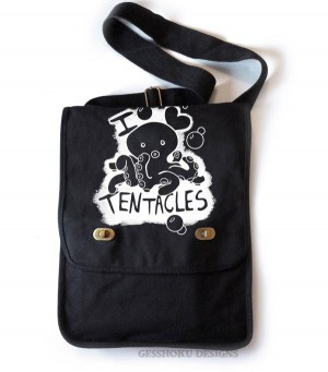 I Love Tentacles Field Bag