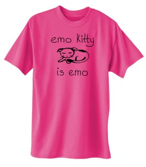 Emo Kitty T-shirt