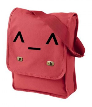 Happy Emoticon Field Bag