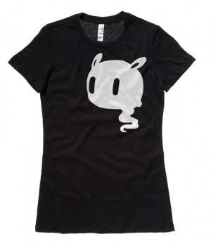 Kawaii Ghost Ladies T-shirt