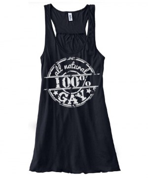 100% All Natural Gay Flowy Tank Top