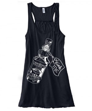 Drink Me ~ Wonderland Flowy Tank Top