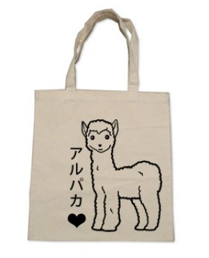 Alpaca Love Tote Bag