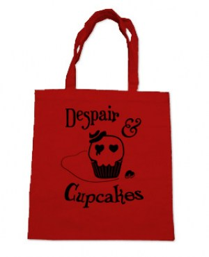 Despair and Cupcakes Tote Bag