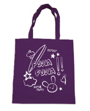 Fuwa Fuwa Tote Bag (white/purple)