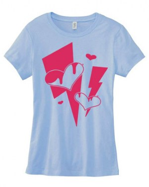 Love Shock Ladies T-shirt
