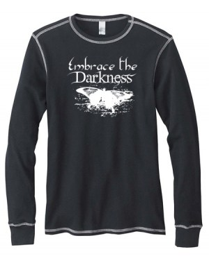 Embrace the Darkness Mens Long-Sleeve Thermal Shirt
