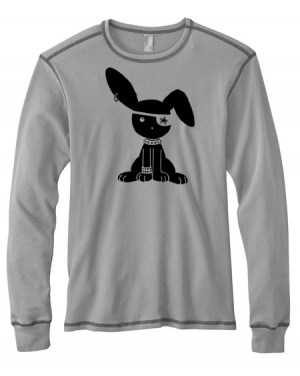 Jrock Bunny Mens Long-Sleeve Thermal Shirt