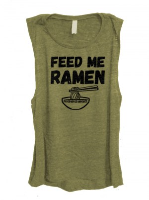 Feed Me Ramen Sleeveless Top