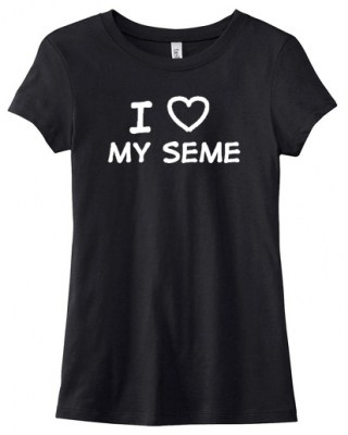 I Love my Seme Ladies T-shirt