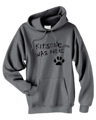 Kitsune Was Here Pullover Hoodie