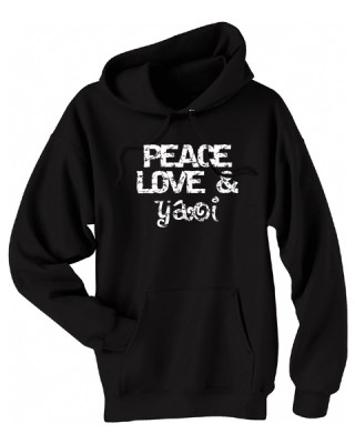 Peace, Love & Yaoi Pullover Hoodie