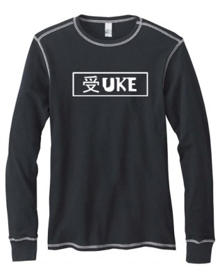 Uke Badge Mens Long-Sleeve Thermal Shirt