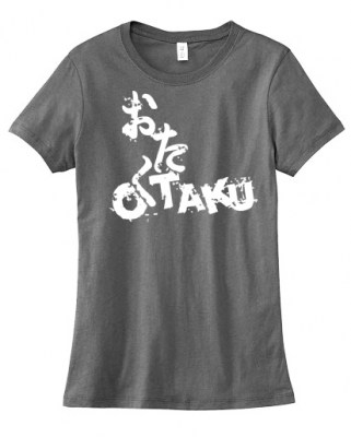 Otaku Anime Ladies T-shirt