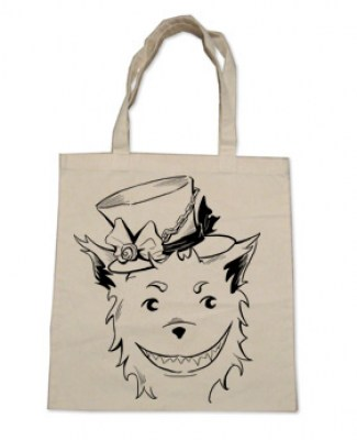 Big Bad Grinning Wolf Tote Bag
