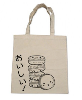 Delicious Macarons Tote Bag