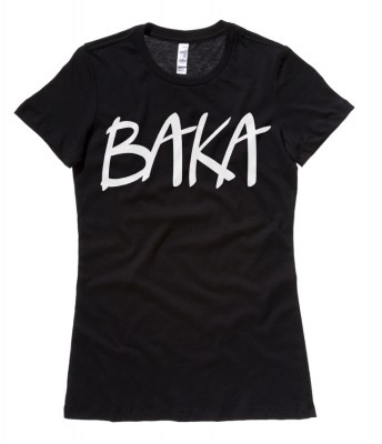 Baka (text) Ladies T-shirt
