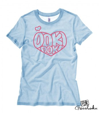 Doki Doki Ladies T-shirt