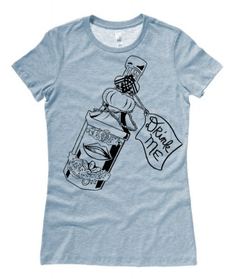 Drink Me ~ Wonderland Ladies T-shirt