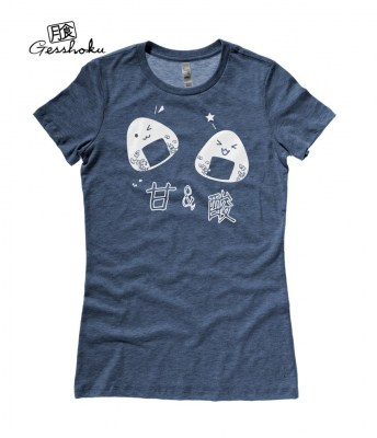 Onigiri Rice Balls Ladies T-shirt