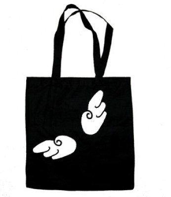 Chibi Angel Wings Tote Bag