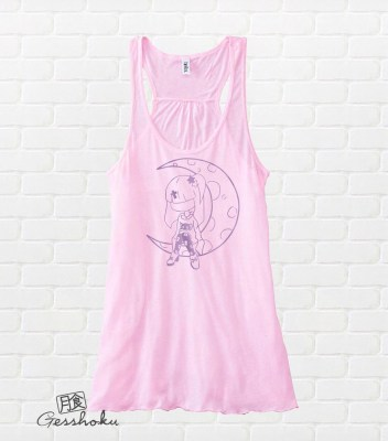 Pastel Moon Flowy Tank Top