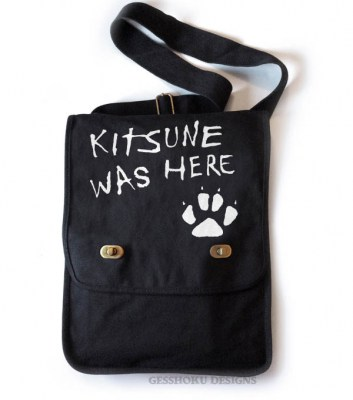 Kitsune Was Here Field Bag