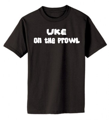 Uke on the Prowl T-shirt