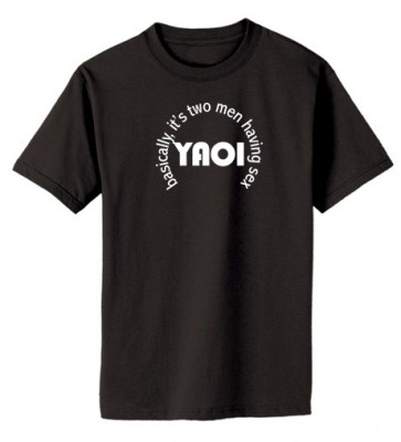 Definition of Yaoi T-shirt