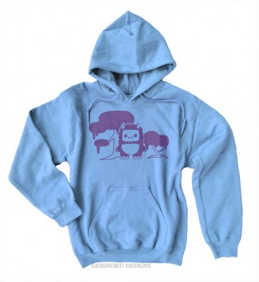 Tricky Yeti's Magical Forest Pullover Hoodie