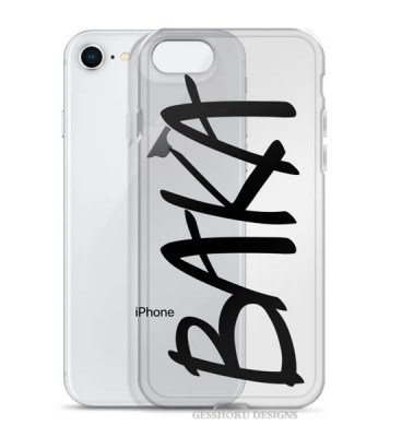 BAKA Clear Phone Case for iPhone/Galaxy