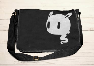 Kawaii Ghost Messenger Bag