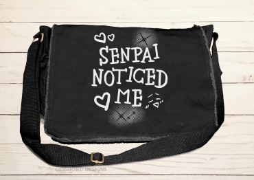 Senpai Noticed Me Messenger Bag
