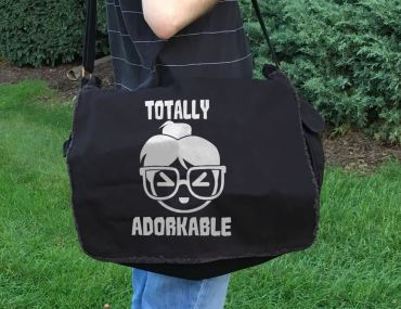 Totally Adorkable Messenger Bag