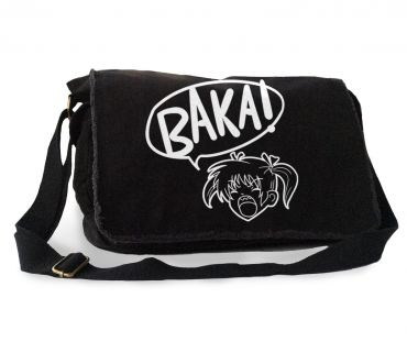 Yelling Anime Girl Messenger Bag