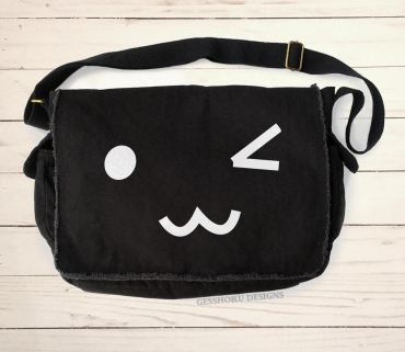 Kawaii Face Messenger Bag