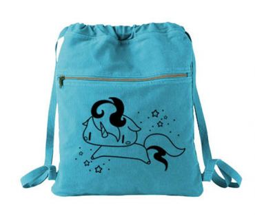 Sparkly Unicorn Cinch Backpack