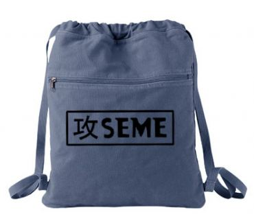 Seme Badge Cinch Backpack
