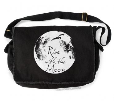 Rise With the Moon Messenger Bag